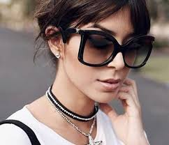 Attention's in the Side-Details, Oversized Square Sunnies