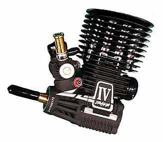 Alpha Dragon IV .21 nitro Engine Combo with 4 shoe Clutch