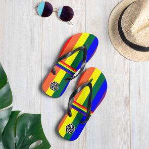 Mark Savior Pride Flip-Flops