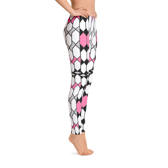 Nothing But Chaos Pattern Leggings