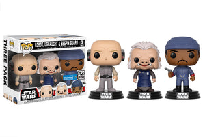 Pop! Star Wars - Lobot, Ugnaught, Bespin Guard [3 Pack] (Walmart Exclusive) - Mom's Basement Collectibles