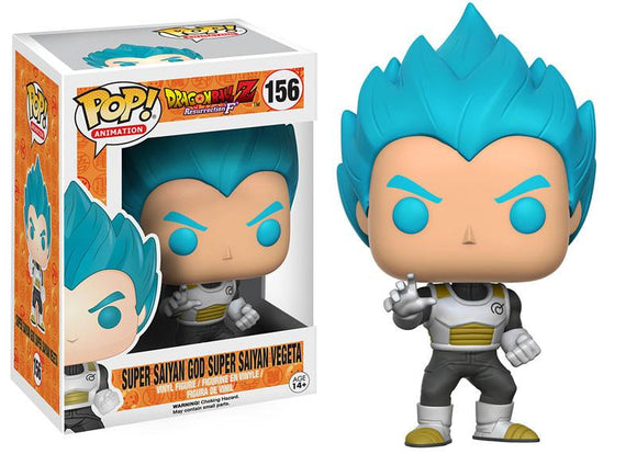 Pop! Animation: Dragon Ball Z - Super Saiyan God Super Saiyan Vegeta - Mom's Basement Collectibles