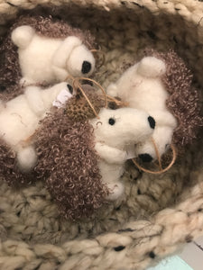 Hedgehog baubles ($5)