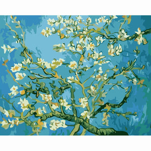 Almond Blossoms by Vincent van Gogh, 1890