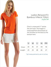 Relaxed Fit V-Neck Bamboo T- Vodka is Vegan