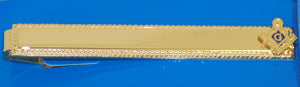D279 Tie Bar Masonic Personal S&C Gold