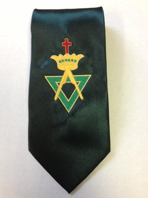 D0165 Allied Masonic Degree Tie EMBROIDERED