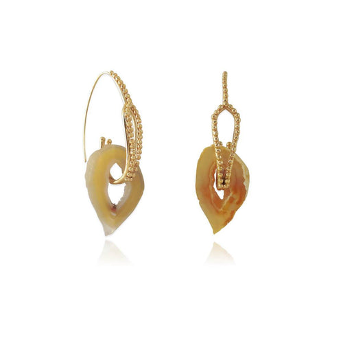 14kt Gold Plated Aphra Earrings ,[product vendor],JewelStreet