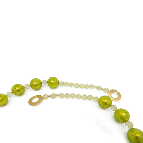 Murano Glass Bead Spring Love Necklace  ,[product vendor],JewelStreet