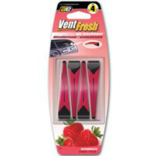 Auto Expressions VNT-7 Vent Sticks Air Freshener, Strawberry