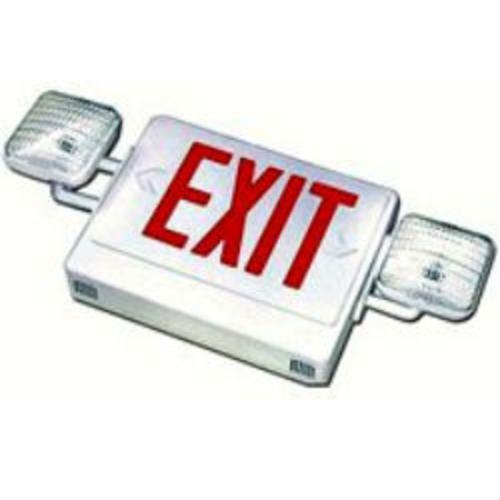 Howard Hl03143rw Combo Exit/emergency Light, White