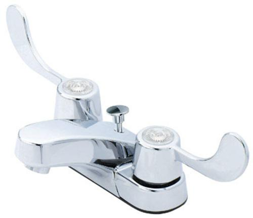 Oakbrook F5120005cp-aca2 Two Handle Lavatory Faucet With Pop-up, 4
