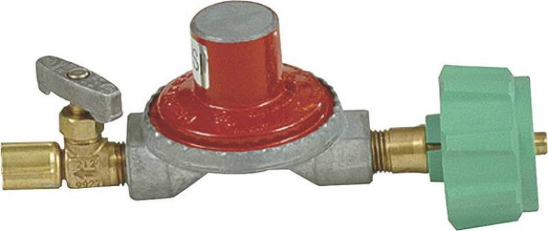 Bayou Classic 7000 High Pressure Regulator With Control Valve, 10 Psi