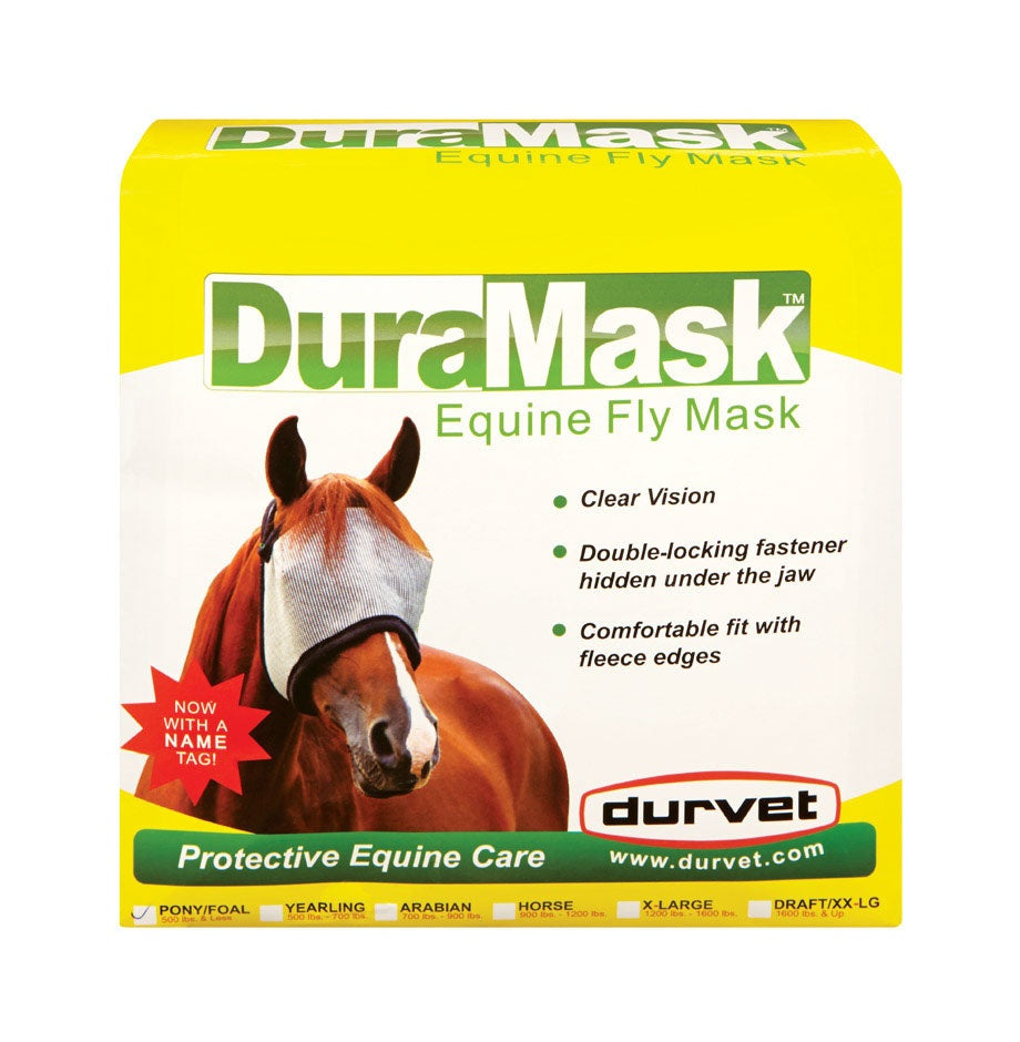 Durvet 081-60005 Foal And Pony Horse Fly Mask
