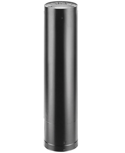 M & g Duravent 8647 Telescoping Connector Double Wall Stove Pipe, 6