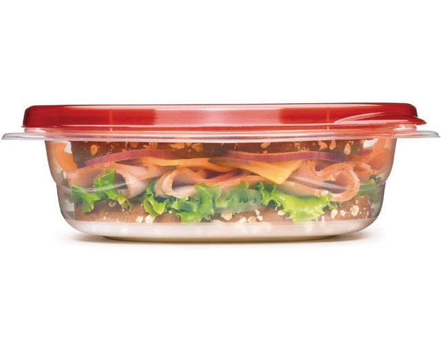 Rubbermaid 1832533 Food Storage Container, 23.5 Oz, Pack Of 4