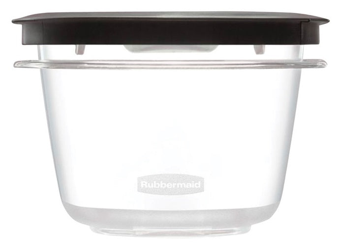 Rubbermaid 1951293 Premier Food Storage Container, 2 Cups, 2 Piece