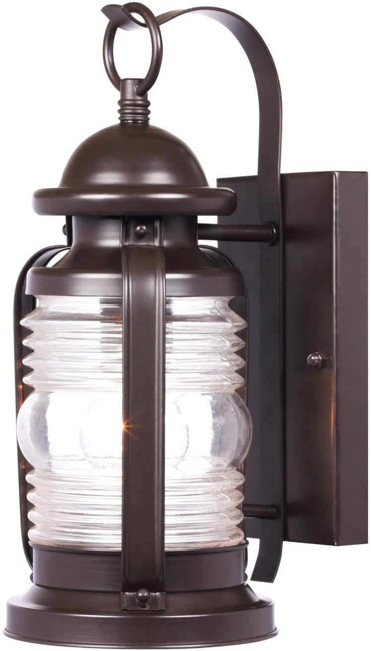 Westinghouse 6230148 Exterior Wall Lantern, Weathered Bronze, 120 Volt