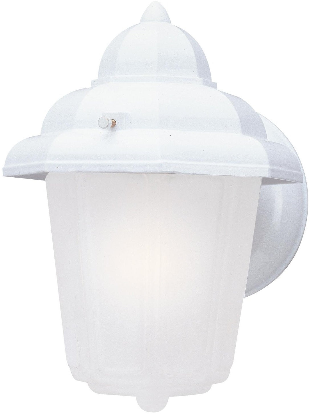 Westinghouse 66879 1-light Outdoor Wall Lantern Fixture, White