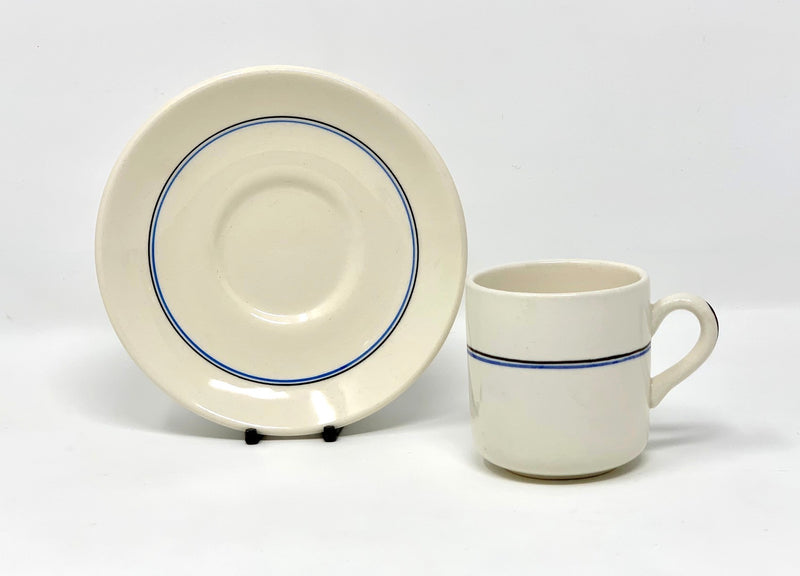Various Ships - Union Castle demi cup/saucer