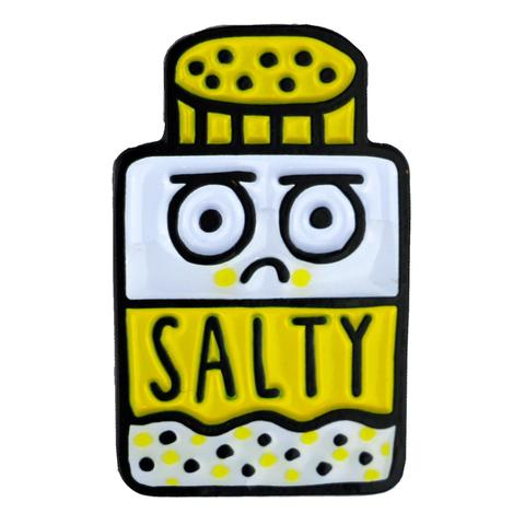 Salty Enamel Pin