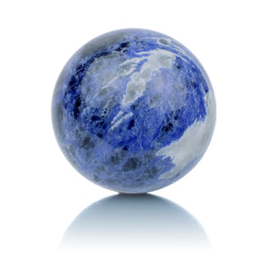 Sodalite - 20mm Polished - Sparkling Jewels