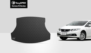 HONDA Civic 2013 Trunk Mat - Sedan- Not For Hybrid Model Sedan Model