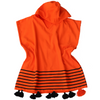 Capri - Child's Terry-lined Hooded Beach Coverup with Pom Poms
