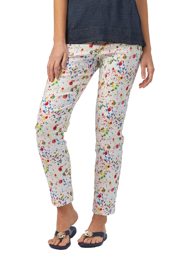 Womens Multi Print The You Pant