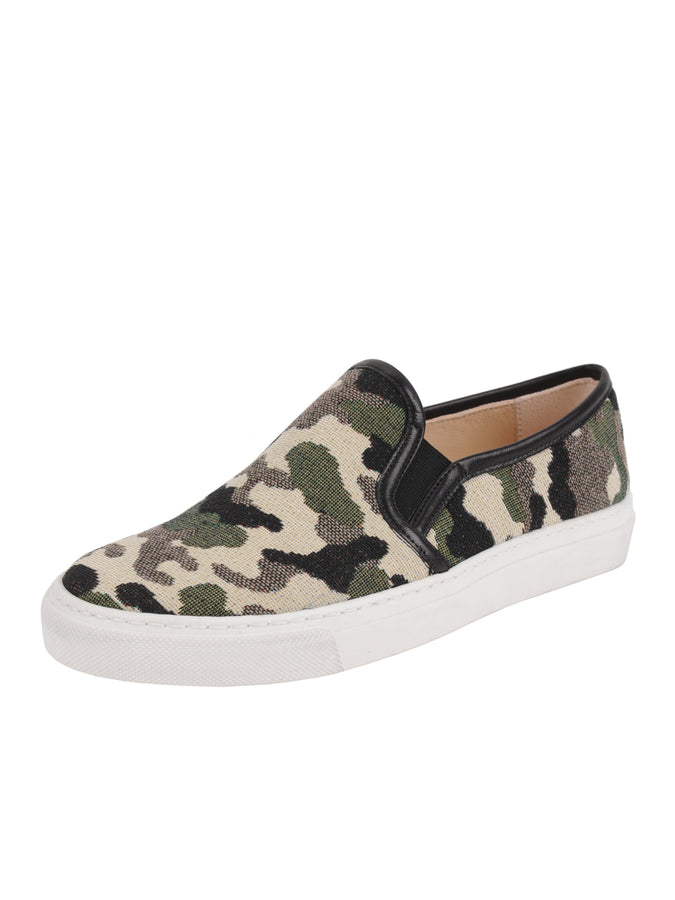 Camo Slip on Sneanker Full