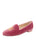 PINK Velvet Women's Smoking Shoe with Skull Full