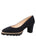 Womens Navy Suede Katie Lug Pump