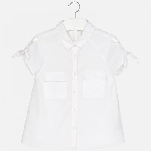 Mayoral SS White Shirt