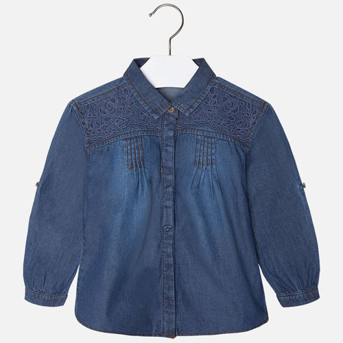 Mayoral Girls Denim Shirt