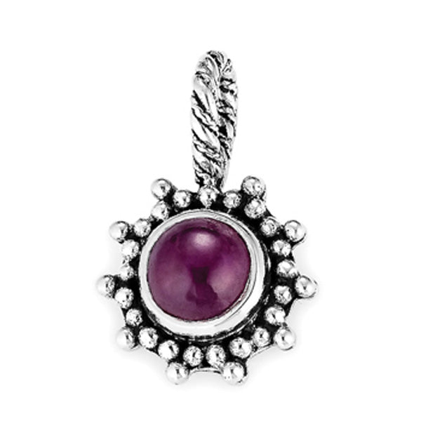 """July Sweetie Pie"" pendant from Sweets by Lori Bonn (59901R)"