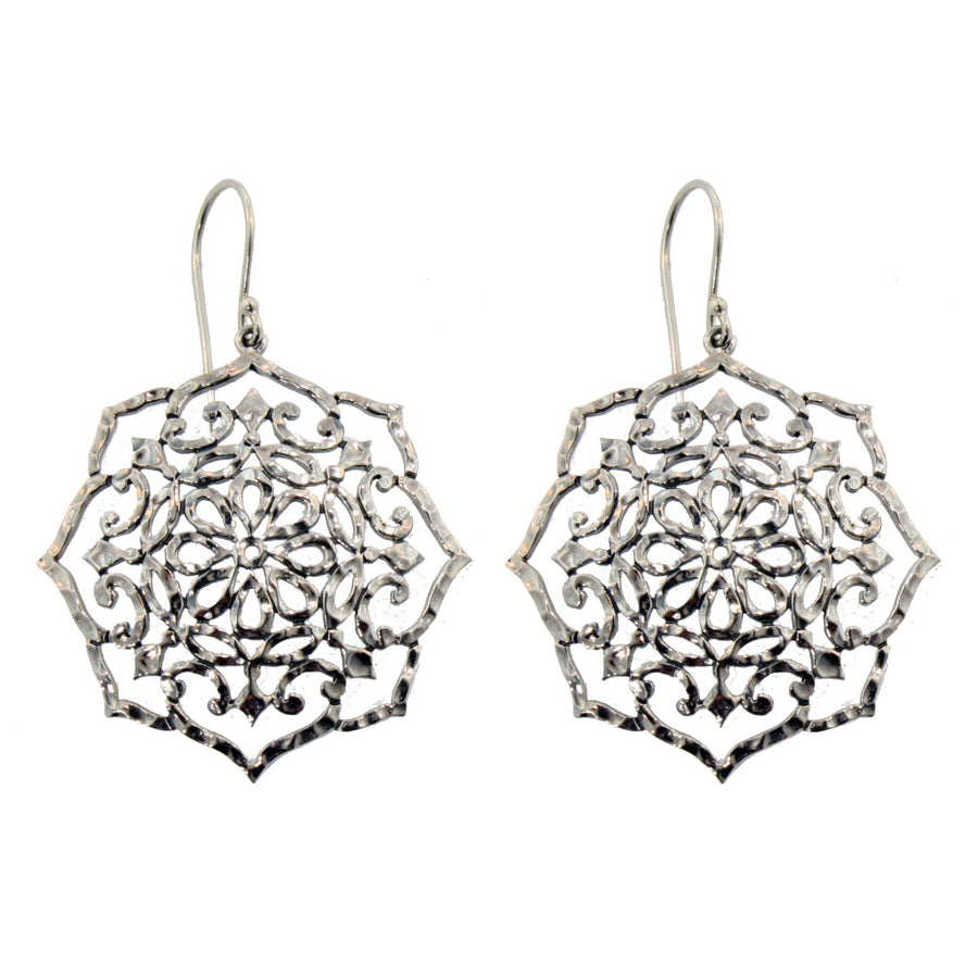 Whirlpool Earrings by Lori Bonn (115106)