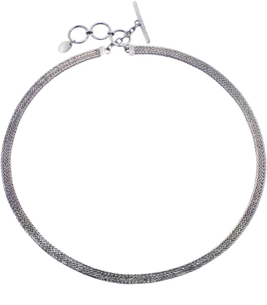 "Woven Omega Necklace (18""-19"") from Bonn Bons Starter Accessories by Lori Bonn (961218)"