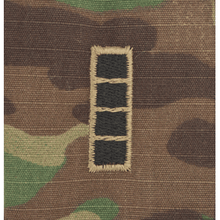 Multicam Rank w/o Hook Fastener Backing (sew-on) - Enlisted/Officer
