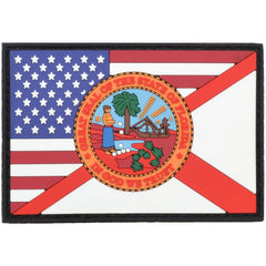 Florida / USA Flag Full Color - 2x3 PVC Patch