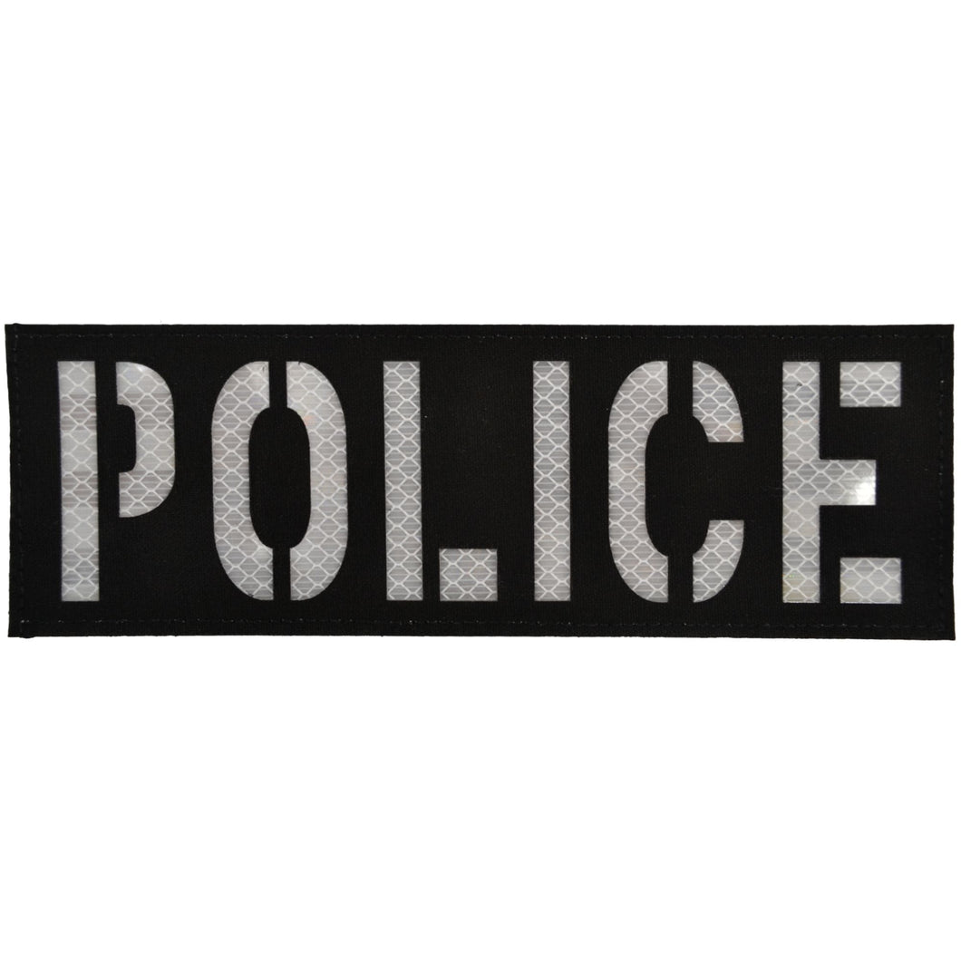 POLICE Laser Cut Reflective - 3x9 CORDURA® Patch