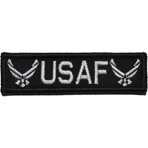 USAF, U.S. Air Force Emblem - 1x3.75 Patch