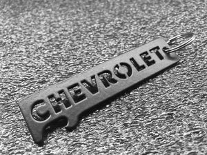 CHEVROLET / CHEVY - ONYX Keychain Bottle Opener (Stainless Steel)