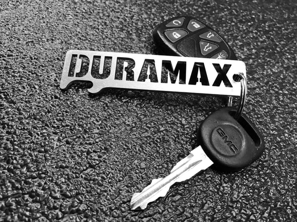 DURAMAX - Stainless Steel Keychain Bottle Opener