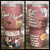 Create Your Own: TV SHOW/MOVIE/ARTIST Glitter Tumbler