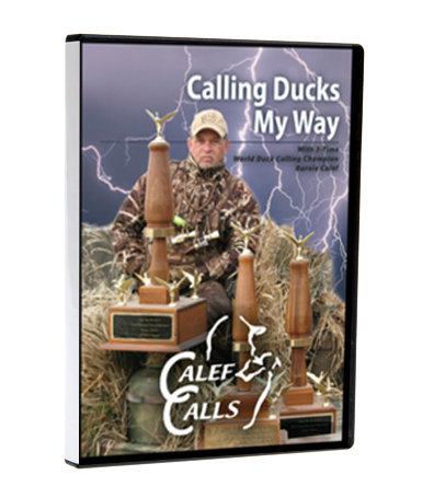 Calling Ducks My Way Instructional Duck Calling DVD