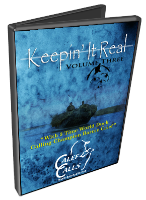 Keepin It Real- Volume 3 Duck Calling Waterfowl Hunting DVD