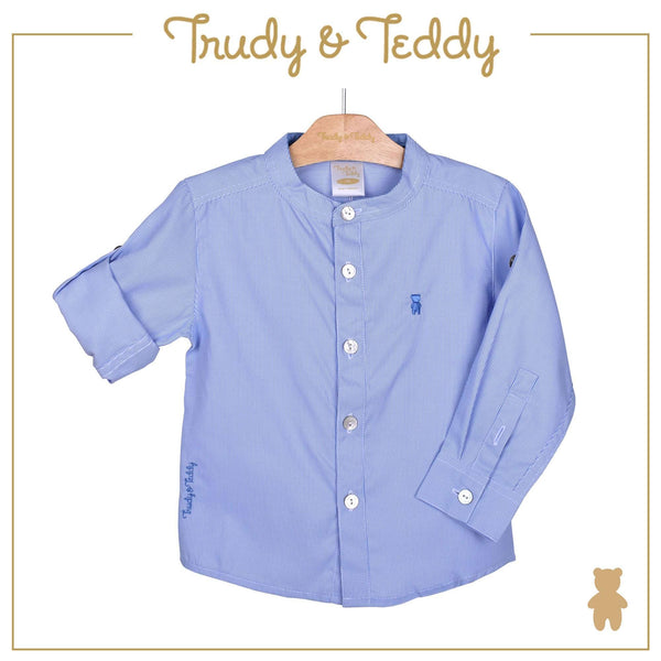 Trudy & Teddy Toddler Boy Woven Long Sleeve Shirt- 815165-151 : Buy Trudy & Teddy online at CMG.MY