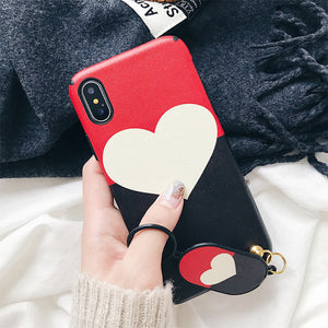 Heart Case fro iPhone X