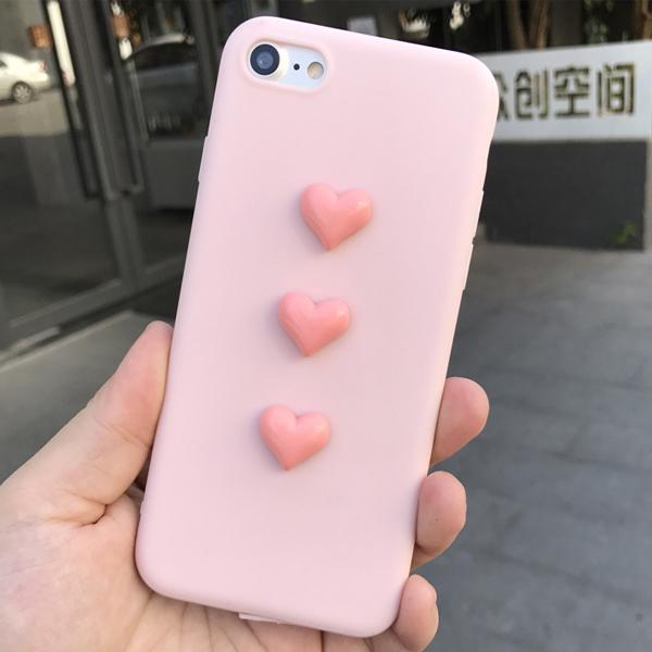 Jelly Heart Case for iPhone 8/8 Plus