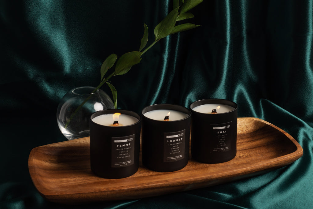 Sensual Candle Co. Coconut Wax Candles